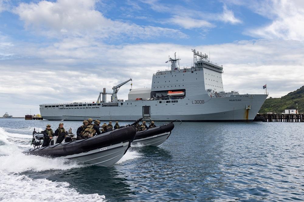 Pega Royal navy