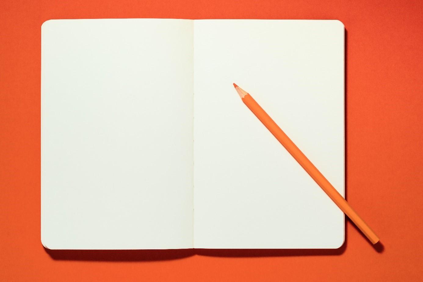 wit papier potlood
